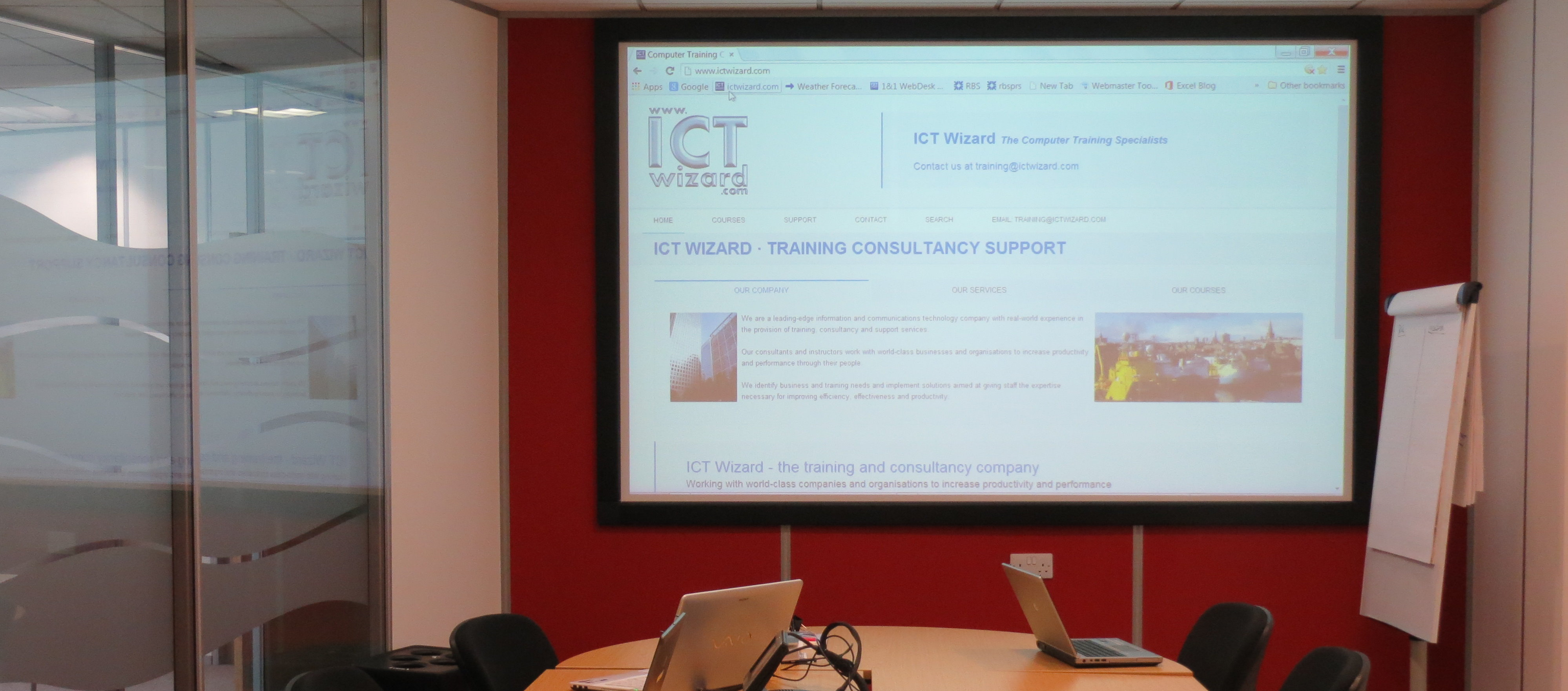 ICT Wizard courses onsite and offsite